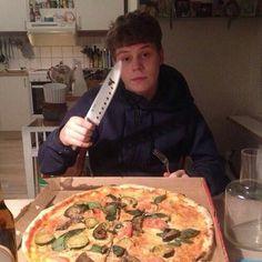 Pizza? Pizza.