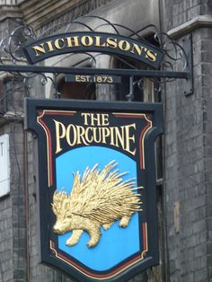 The Porcupine, Charing Cross Road,