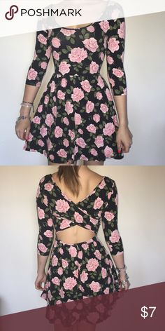 Floral dress In great condition! Forever 21 Dresses Mini