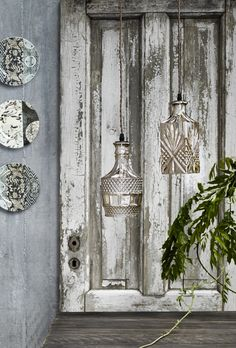 decanter lights - fab repurposing
