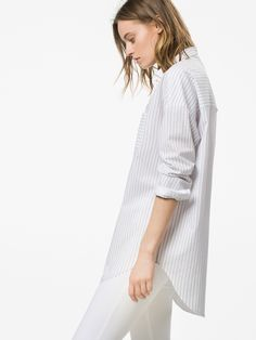LARGE STRIPED BLOUSE