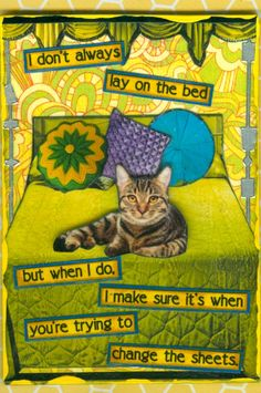 The Most Interesting Cat In The World ATC
