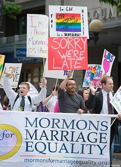 """We need more religious tolerance especially when the opposite is breeding hatred. """" Seattle Gay Pride Parade 2012"""""""
