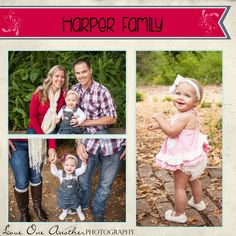 Hi, everyone! Oh how I just adore the family I'm blogging about today. I'm lucky enough to say I've been photographing the Harper family for the last couple years now! I truly can't believe how muc... Love One Another Photography Nichol Davis www.LOAPhotography.com