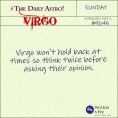 Virgo Daily Astro!: Check your Virgo horoscope now.  Visit iFate.com today!