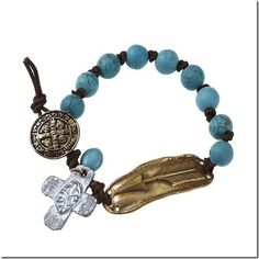Turquoise Bead Arrow Bracelet AT COWGIRL BLONDIE'S WESTERN BOUTIQUE
