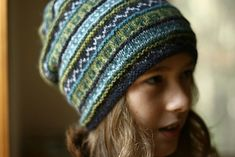 Ravelry: Project Gallery for Hued Toque pattern by Gudrun Johnston