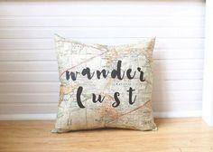 Wanderlust Pillow