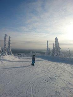 Finland, Levi skiing center