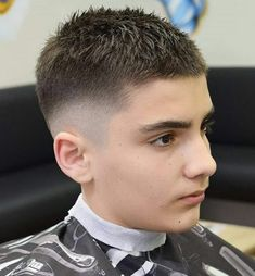 Haircut Numbers - Hair Clipper Sizes: All You Need to Know - Men's Hairstyles Boy Haircuts Short, Teen Boy Haircuts, Hairstyles Haircuts, Haircuts For Men, Trendy Hairstyles, Crop Haircut, Fade Haircut, Number 8 Haircut, Hair Clipper Sizes