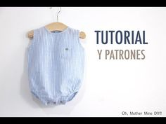 Baby boy bubble romper -- free pattern and tutorial Diy Clothes Tops, Sewing Baby Clothes, Diy Clothes Videos, Cute Baby Clothes, Baby Sewing, Baby Halloween Costumes For Boys, Kids Dress Patterns, Diy Bebe, Romper Pattern