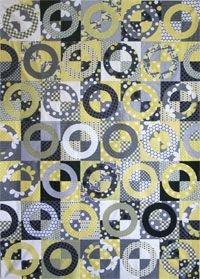 Cheery O's Quilt Pattern by Crazy Old Ladies at KayeWood.com. We're running in circles of excitement about this one. Think outside of the box; this quilt is full of style and flair and I bet you can't wait to get your hands on it! There's even a bonus project included. http://www.kayewood.com/item/Cheery_O_s_Quilt_Pattern/3136 9.00