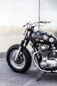 Yamaha Flat Tracker Vintage by Recast Moto Flat Tracker, Scrambler, Bobber, Cars And Motorcycles, Yamaha, Cycling, Bike, Japanese, Vehicles