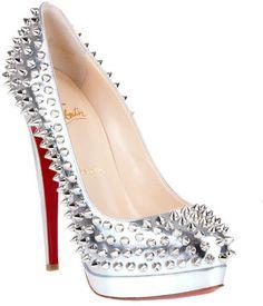 cfe6a6796ca4 ShopStyle  Christian Louboutin Alti pump spikes 160 NEW SEASON Spike Shoes