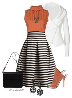 Blazer Outfit by penny-martin on Polyvore featuring polyvore fashion style Dušan Donna Karan Rumour London Balenciaga Orla Kiely Oscar de la Renta