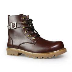 men winter boots plus size top quality cow split motorcycle retro leather boots Mens Motorcycle Boots, Mens Winter Boots, Leather Boots, Combat Boots, Cow, Plus Size, Retro, Collection, Shoes
