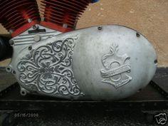 engraving motorcycle