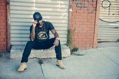 Kanye West For President Tee – Gold on Black