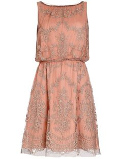 Coral Dress from Monsoon