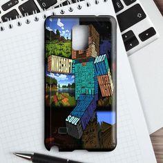 Minecraft Steve Typograpghy Samsung Galaxy Note 4 Case | casefantasy