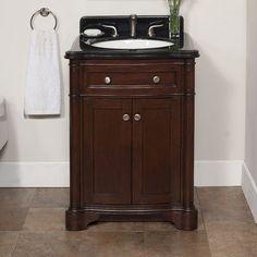 "Chester 26"" Single Bathroom Vanity Set | Wayfair"