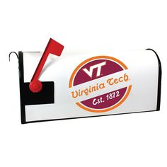 Virginia Tech Hokies Magnetic Mailbox Cover, Multicolor