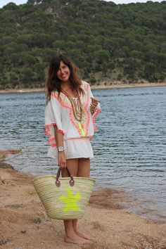 time for the beach! Bohemian Mode, Boho Chic, Style Bobo Chic, My Style, I Love Fashion, Diy Fashion, Ibiza Dress, Boho Dress, Boho Outfits