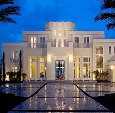 Modern mansion house most expensive fancy houses in the world best mansion house and modern luxury White Mansion, Dream Mansion, Modern Mansion, Modern Castle House, Architecture Design, Modern Architecture House, Modern House Design, Art Deco Home, Luxury Real Estate