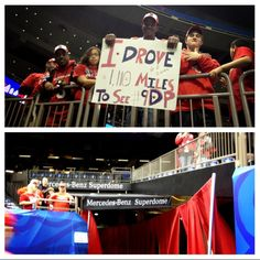 Dedicated fans traveled to see their Louisville Cardinals play in the Allstate Sugar Bowl