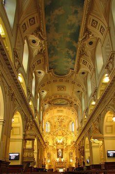 Basilica Quebec, Canada