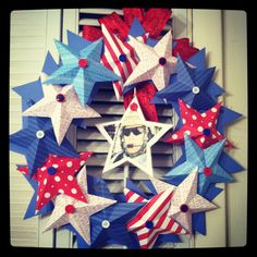 Memorial Day Wreath!