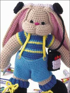 Crochet - Accessories - Miscellaneous Crochet Accessories - Rockin' Rollin' Rabbit - #FC00931