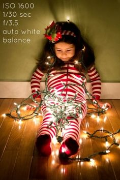 Photos of kids with lights - how to by therawculture
