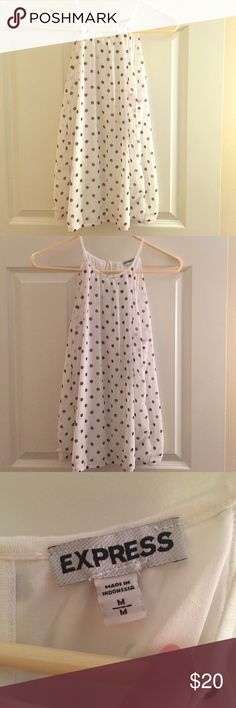 Express Tank Top. Express Polka Dot Tank Top. M. Ties in Back. Express Tops Tank Tops