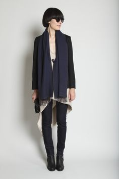 love black, navy, and denim combo. am loving everything about totokaelo.com