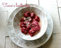 Beet Gnocchi with Mustard Sauce and Goat Cheese | Recipe | Gnocchi ...
