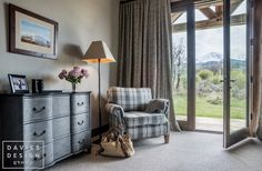 Davies Design Group - Mountain Ranch Guest Room 2 Guest Room, Ranch, Mountain, Curtains, Group, Design, Home Decor, Guest Ranch, Room Decor