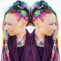 "75 Likes, 6 Comments - Angela's Hair SKULLPTURES (@angela_skullptures) on Instagram: ""Hairtattoo  made @razordolls  #razordollssalon #hairtattoo #shavings #hairtattoos #hairdesign…"""