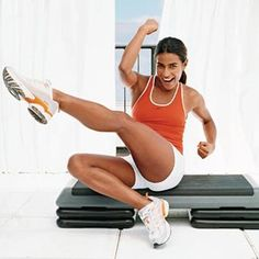 This do-it-all workout blasts calories and sculpts every muscle in just 30 minutes a day. - Fitnessmagazine.com