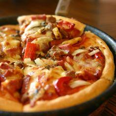 Chicago Style Dep Dish Pizza