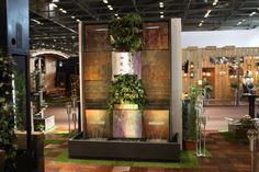"Natura Wall by Cactose, at ""Maison et Objet"" exhibition in Paris."