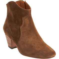 Compelling & Charming Isabel Marant Dicker Leather Suede Ankle Boots Brown On Sale | Isabel Marant Boot  Regular Price:  $ 926.00  Special Price: $268.99