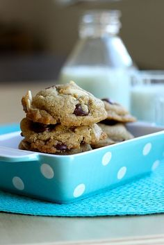 Whole Wheat Chocolate Chip Cookie Recipe  and Tips for Baking with Kids