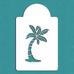 d day beach stencil