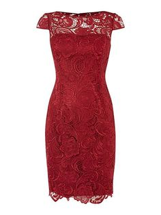 Cap sleeve guipure lace