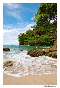 Parc national de Manuel Antonio, plage, Costa Rica