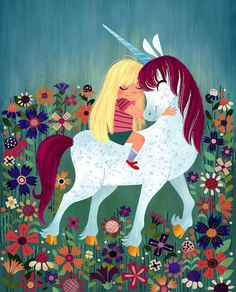 Uni the Unicorn by Amy Krouse book. Maddie has this but I would like to find this print to put in a frame.