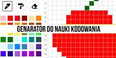 Specjalni czyli nowe technologie w szkołach specjalnych:   Generator kart do kodowania.Trwał Europejski Ty... Bar Chart, Bar Graphs