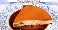 Fabulosa receta para Tarta de Queso Fácil sólo frigorífico. Tarta de queso super fácil, tan sólo batir todos los ingredientes y meter el frigo. Vídeo aquí https://www.youtube.com/watch?v=P6f59vv-9WE
