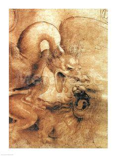 Leonardo da Vinci dragon